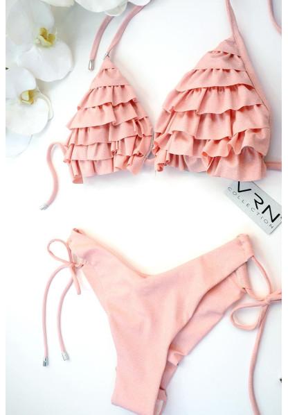 Triangle Glitter Powder pink and BRAZILIAN bikini various models