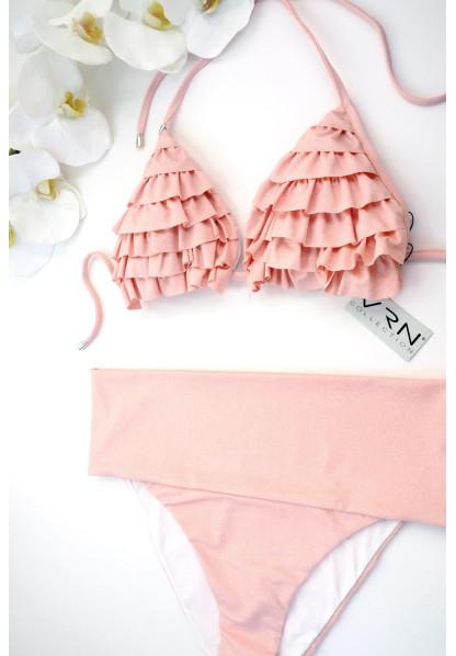 Triangle Glitter Powder pink and BRIEFS bikini various models