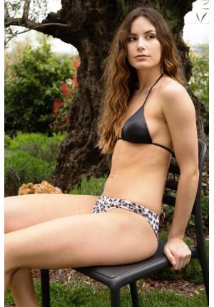 Brazilian and Brazilian Triangle Bikini Closed Spotted